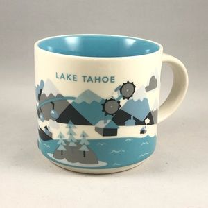 """Lake Tahoe Starbucks """"You Are Here"""" Series Mug"""